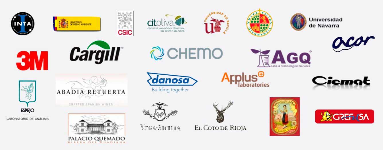 Empresas colaboradoras de Tecnilab